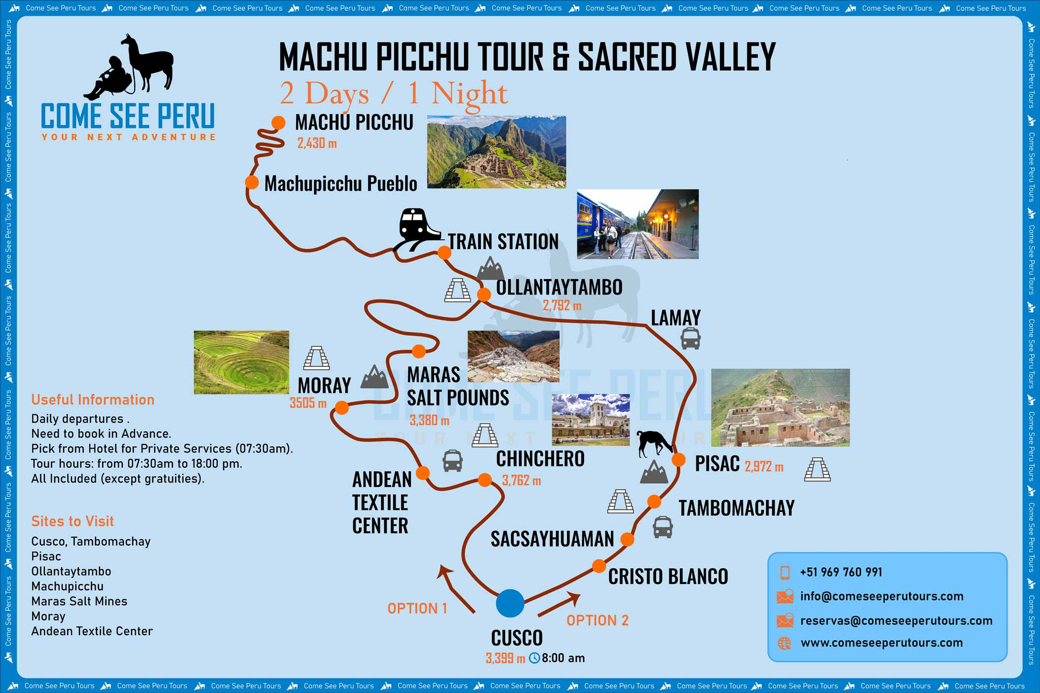 Sacred Valley And Machu Picchu Tour 2 Days From Cusco