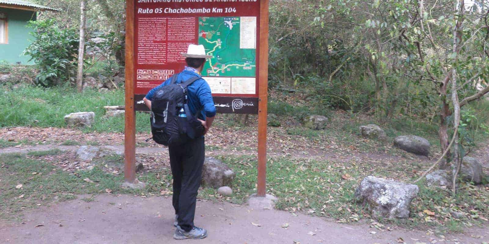 Km 104 inca trail