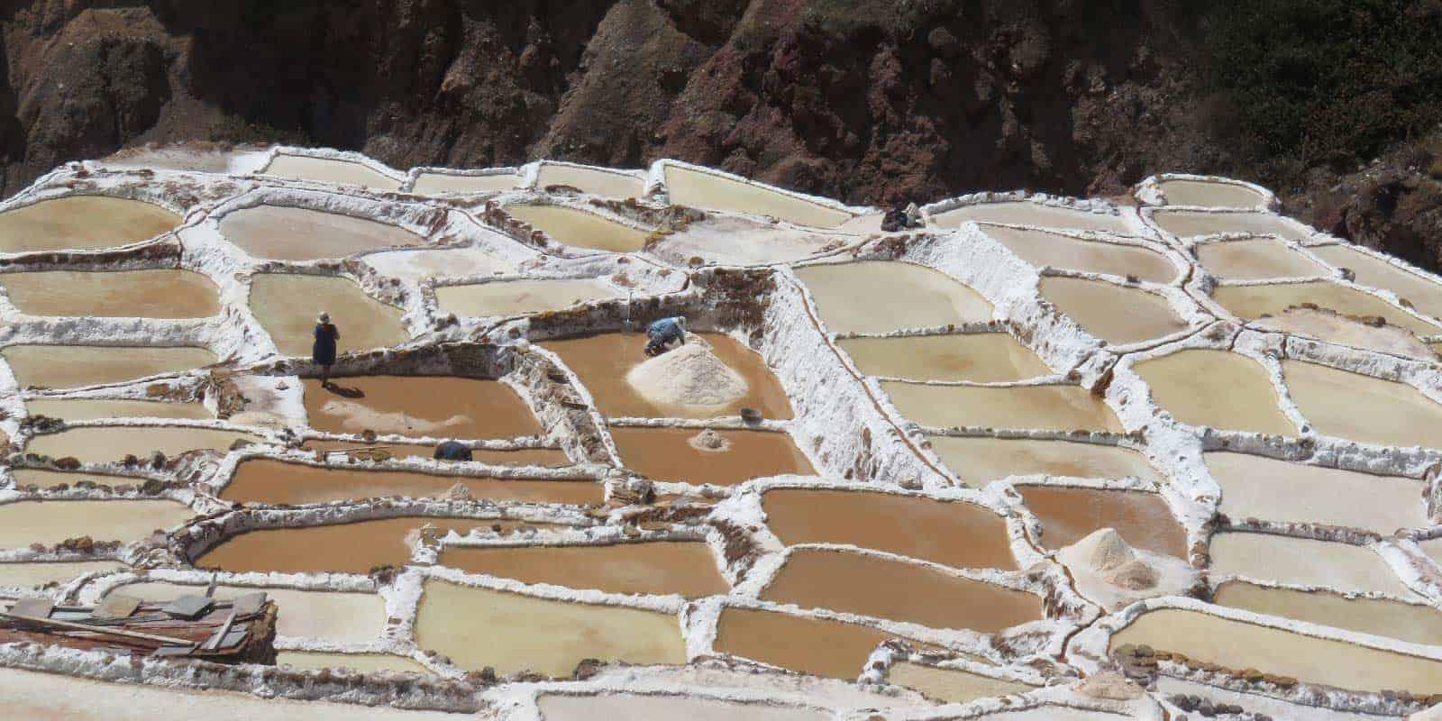 Mras salt mines cusco