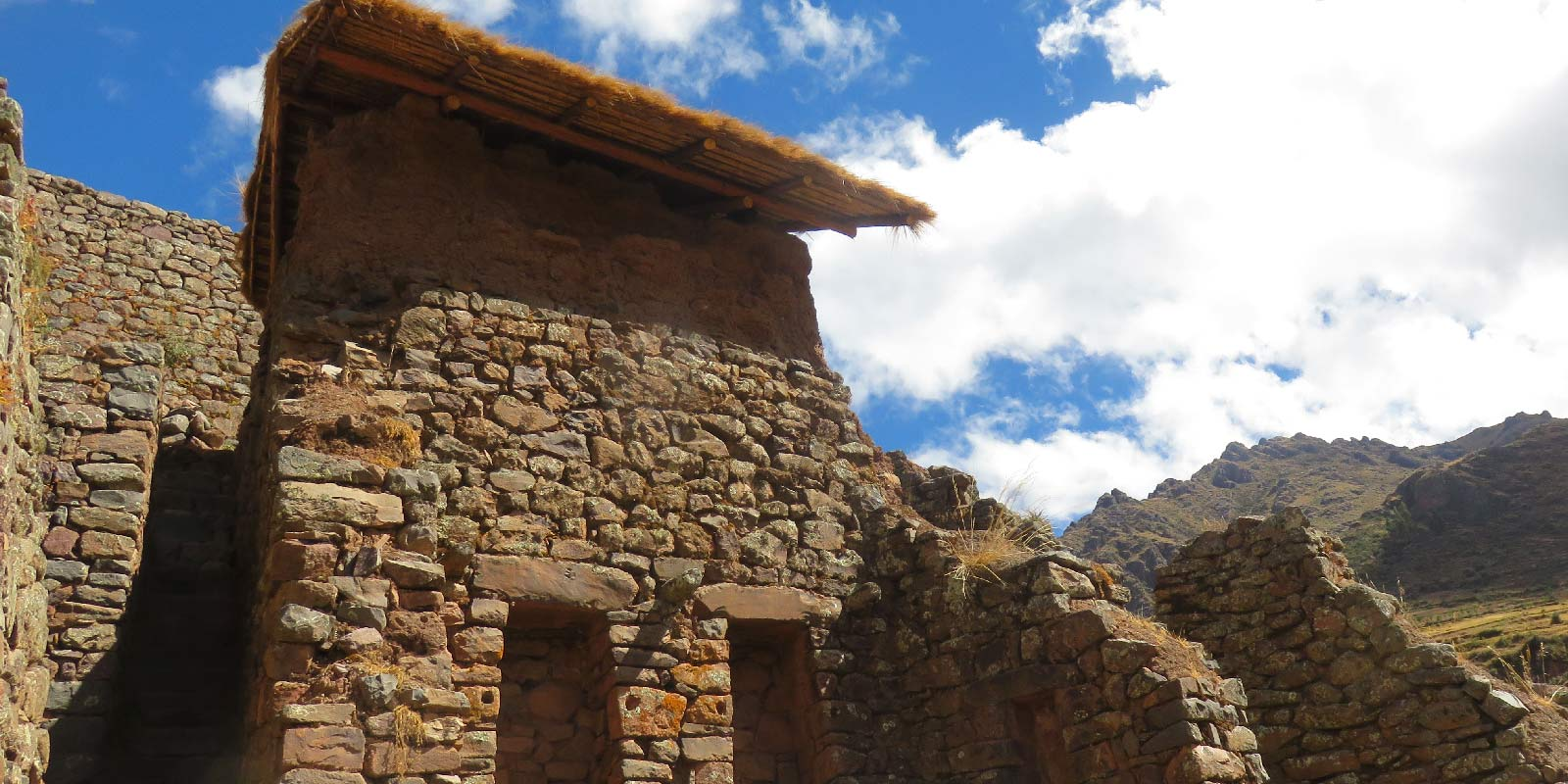 Pisac ruins in the Sacred Valley