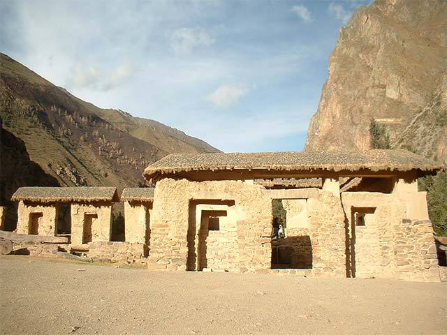 Ollantaytambo Fortress in The Sacred Valley