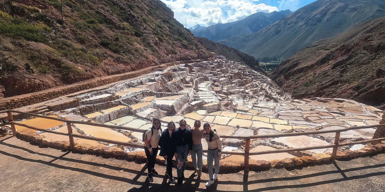 Maras Salt Mines Cusco