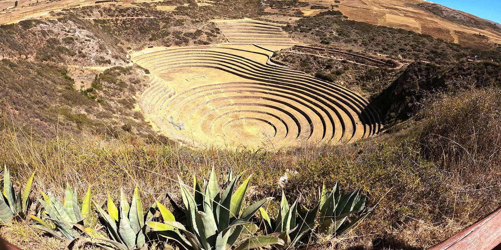 Moray ruins Cusco Perú